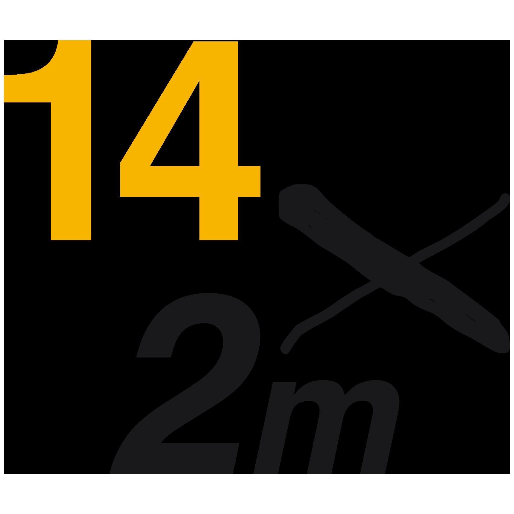 14x2m